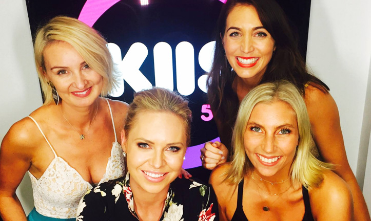 Co-hosting Endo Hour with The Thinkergirls at KIIS 1065