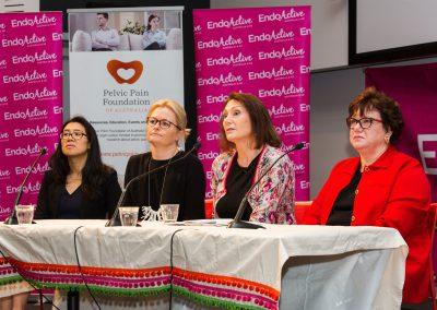 Dr Natalie Young, Dr Kate Stone, Dr Susan Evans, Dr Anne Clark