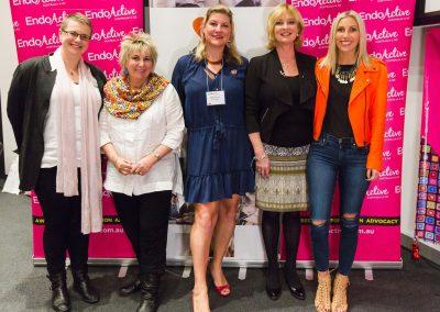 Dr Rebecca Burgell, Lesley Freedman, Nina Booysen, Deborah Bush, Syl Freedman