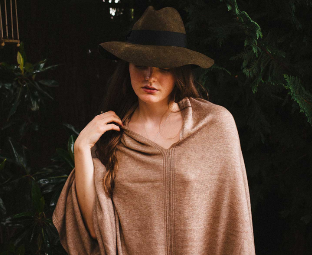 Cashmere ponchos from tucker newton